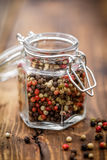 Pepper mix. In a jar Stock Photography