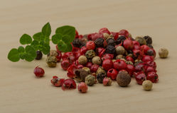 Pepper mix Royalty Free Stock Images
