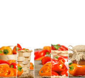 Pepper Mix Slices Royalty Free Stock Image
