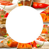 Pepper Mix Slices Royalty Free Stock Images