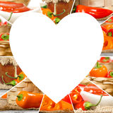 Pepper Mix Slices Stock Photo