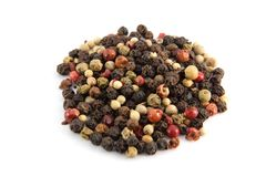 Pepper mix spices Stock Photo