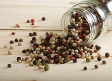 Pepper mix on Royalty Free Stock Photography