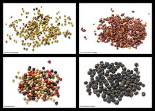Pepper mixtures Royalty Free Stock Photography