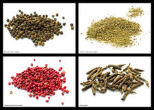 Pepper mixtures Royalty Free Stock Photo