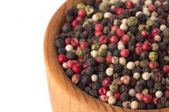 Pepper in a mortar Royalty Free Stock Images