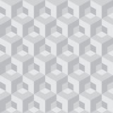 Abstract cube. Seamless pattern background vector illustration