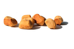Pepper nuts (pepernoten), a Dutch holiday/Sinterklaas snack Stock Photo
