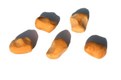 Pepper nuts (pepernoten), a Dutch holiday/Sinterklaas snack Royalty Free Stock Image
