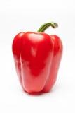 pepper odosobnione czerwony white Obrazy Stock