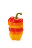 Pepper a paprika from slices Royalty Free Stock Image