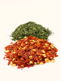 Pepper and parsley Royalty Free Stock Images