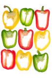 Pepper pattern Stock Images