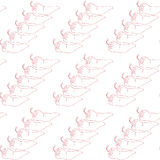 Pepper pattern Royalty Free Stock Images