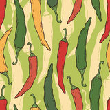 Pepper pattern Royalty Free Stock Photography
