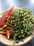 Pepper and pepper Stock Photography