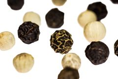 Pepper, Peppercorns, Spice, Spices Royalty Free Stock Images