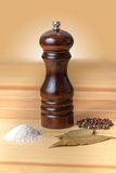 Pepper-pot salt pepper Stock Photo