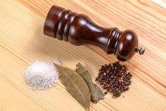 Pepper-pot salt pepper Royalty Free Stock Photography