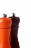 pepper potrząsacze soli zdjęcie stock