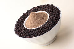 Pepper powder. Royalty Free Stock Images