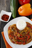 Pepper ragout Stock Photos