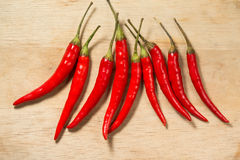 Pepper. Red Chili peppers thai 1 2 Royalty Free Stock Photo