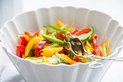 Pepper salad Royalty Free Stock Photos