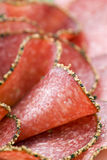 Pepper Salami Royalty Free Stock Images