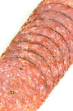 Pepper salami Royalty Free Stock Photo