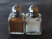 Pepper and salt Royalty Free Stock Photos