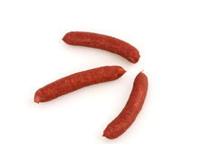 Pepper sausages Royalty Free Stock Photo