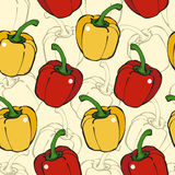 Pepper seamless pattern Stock Photography