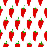 Pepper seamless pattern Royalty Free Stock Images