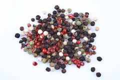 Pepper Seeds Stock Image