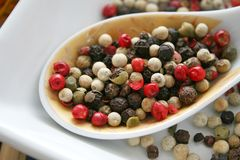 Pepper seeds Royalty Free Stock Photography