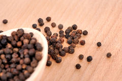 Pepper seeds Stock Photography