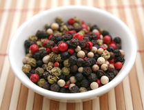 Pepper seeds Royalty Free Stock Photos