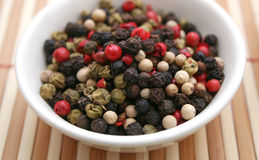 Pepper seeds Royalty Free Stock Images