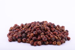 Pepper. Seeds on a white background Royalty Free Stock Image