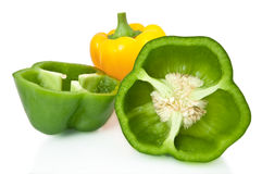 Pepper selection. Stock Image