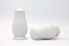 Pepper and salt shaker. Pepper shaker and salt shaker royalty free stock photography
