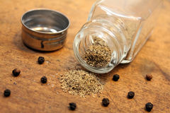 Pepper shaker Stock Image