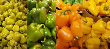 Pepper in a shop Stock Photo