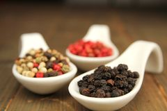 Pepper spice Stock Photos