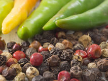 Pepper spice Stock Photos