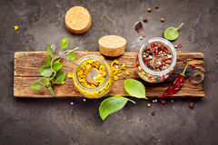 Pepper spice mix Stock Images