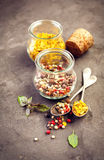 Pepper spice mix Stock Photo