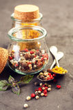 Pepper spice mix Stock Image