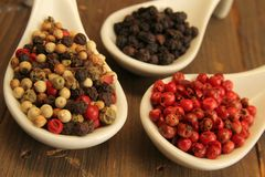 Pepper spices Royalty Free Stock Photography